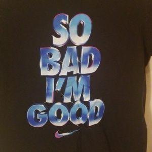 Youth medium Nike tshirt black
